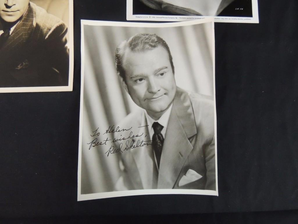 Group of Hollywood Actors and Actresses Signed Photos - 2