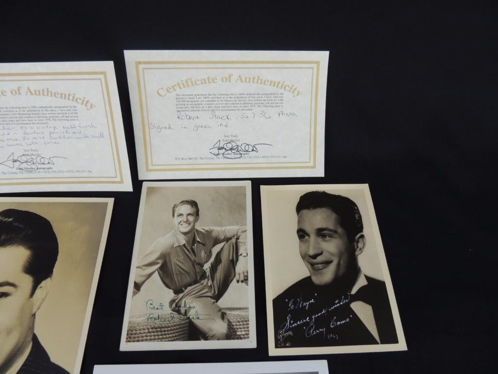 Group of Hollywood Actors and Actresses Signed Photos - 4