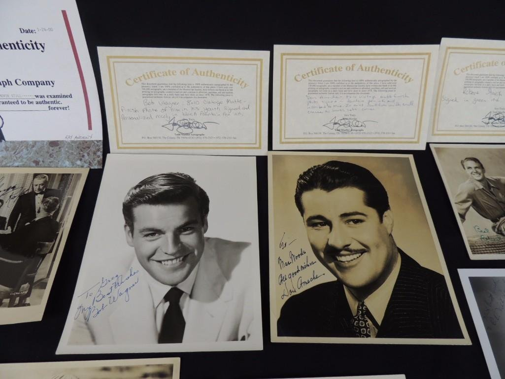 Group of Hollywood Actors and Actresses Signed Photos - 6