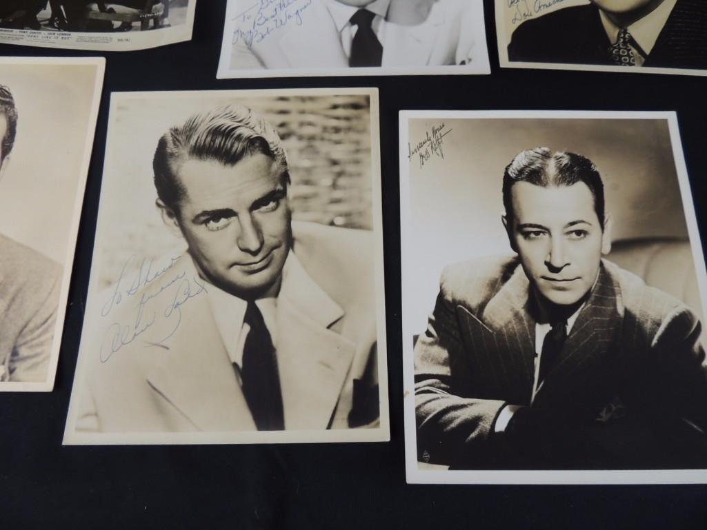 Group of Hollywood Actors and Actresses Signed Photos - 7