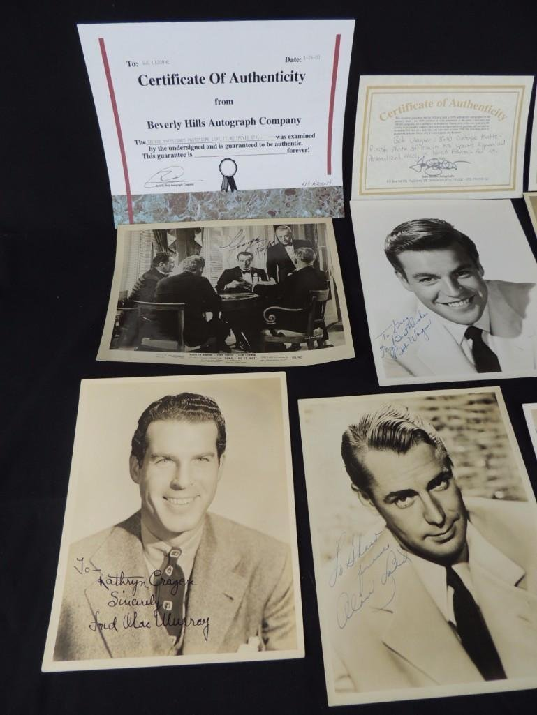Group of Hollywood Actors and Actresses Signed Photos - 9