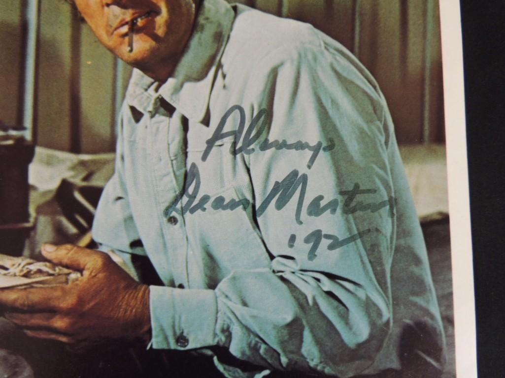 Dean Martin Signed 5 Card Stud Movie Poster - 2