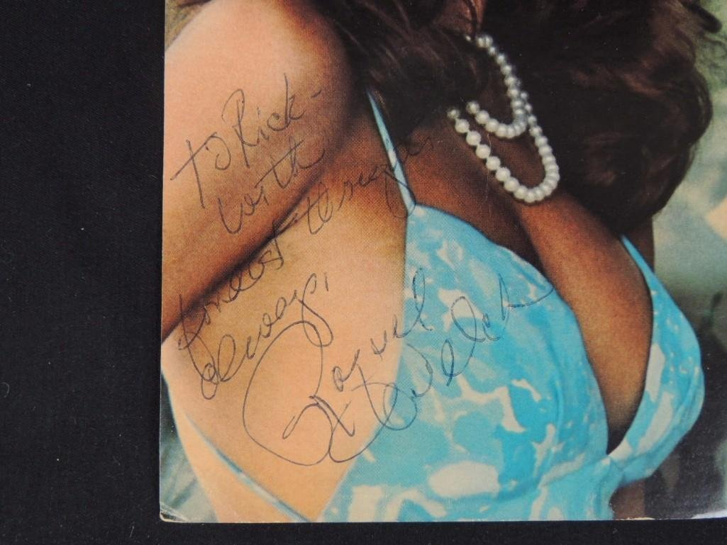 Raquel Welch Signed Photo - 2