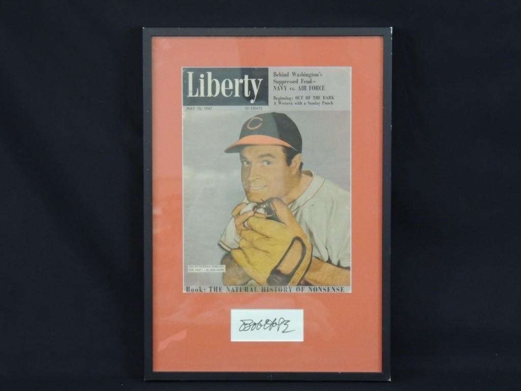 Bob Hope Framed Signed Poster with COA