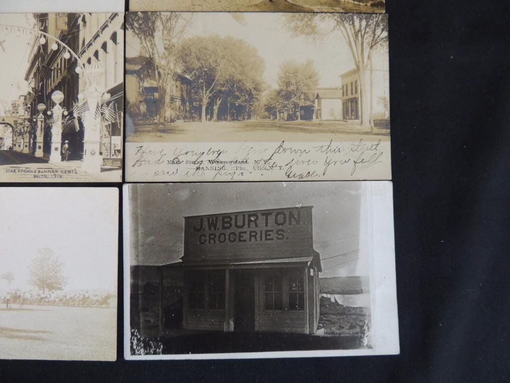Group of 13 Street and Building Views Postcards - 2