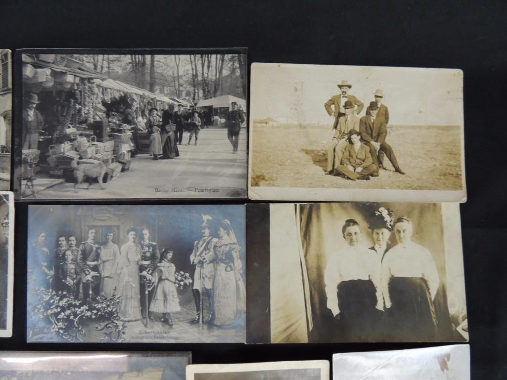 Approximately 100 Plus Mostly Real Photo Postcards of - 2