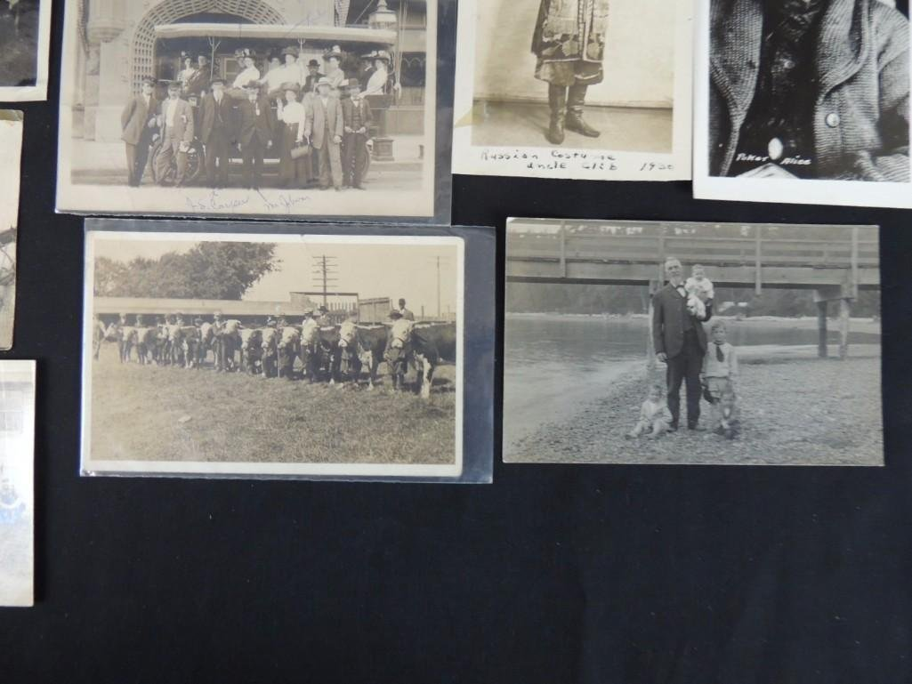Approximately 100 Plus Mostly Real Photo Postcards of - 5