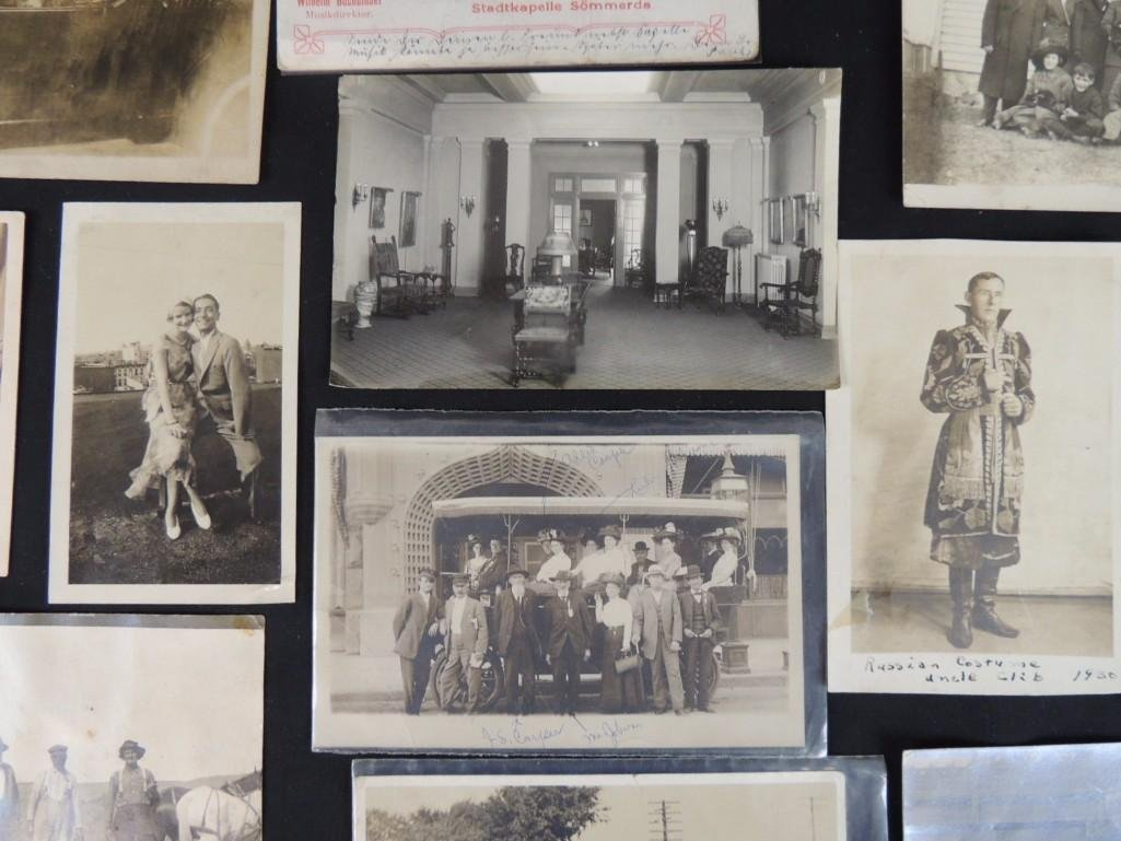 Approximately 100 Plus Mostly Real Photo Postcards of - 6