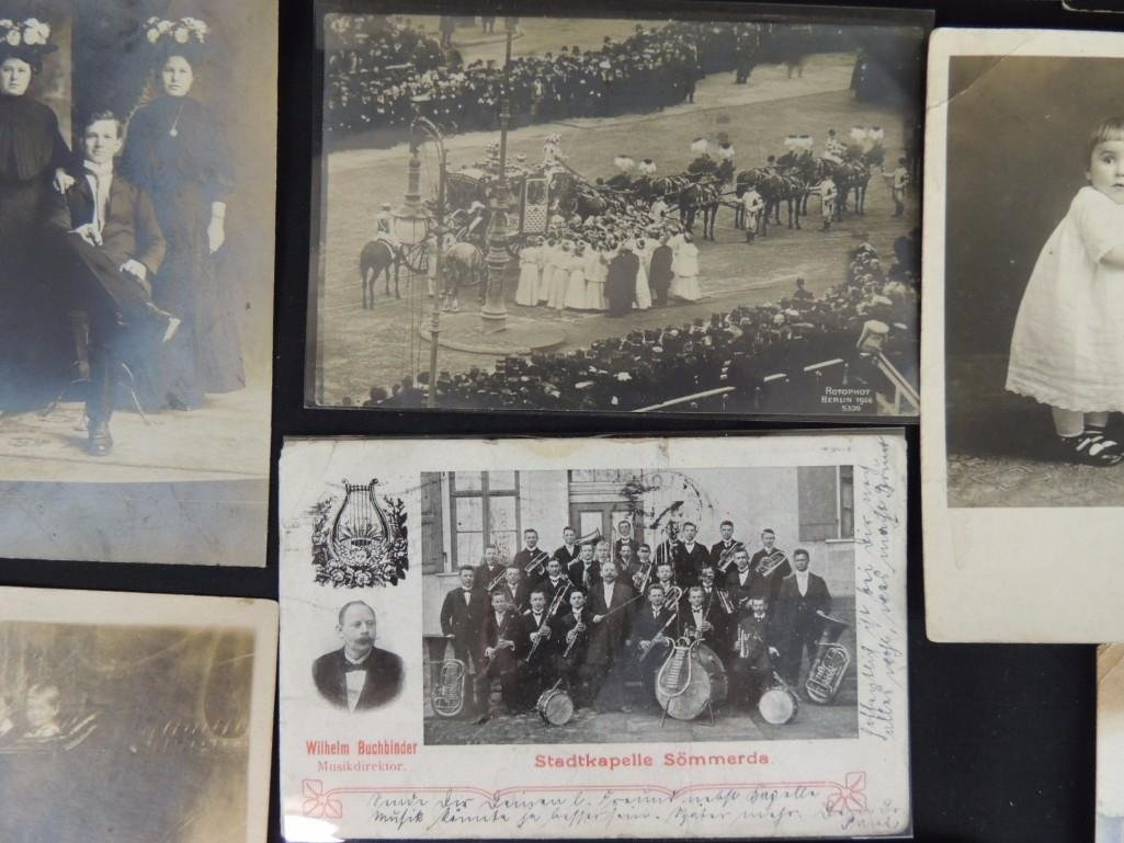 Approximately 100 Plus Mostly Real Photo Postcards of - 7