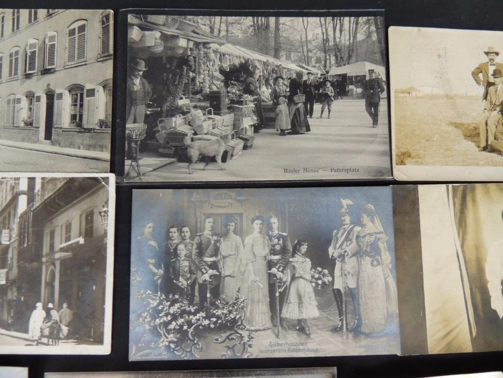 Approximately 100 Plus Mostly Real Photo Postcards of - 8