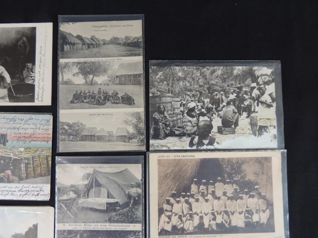 Group of 11 African and Tribal Postcards - 2