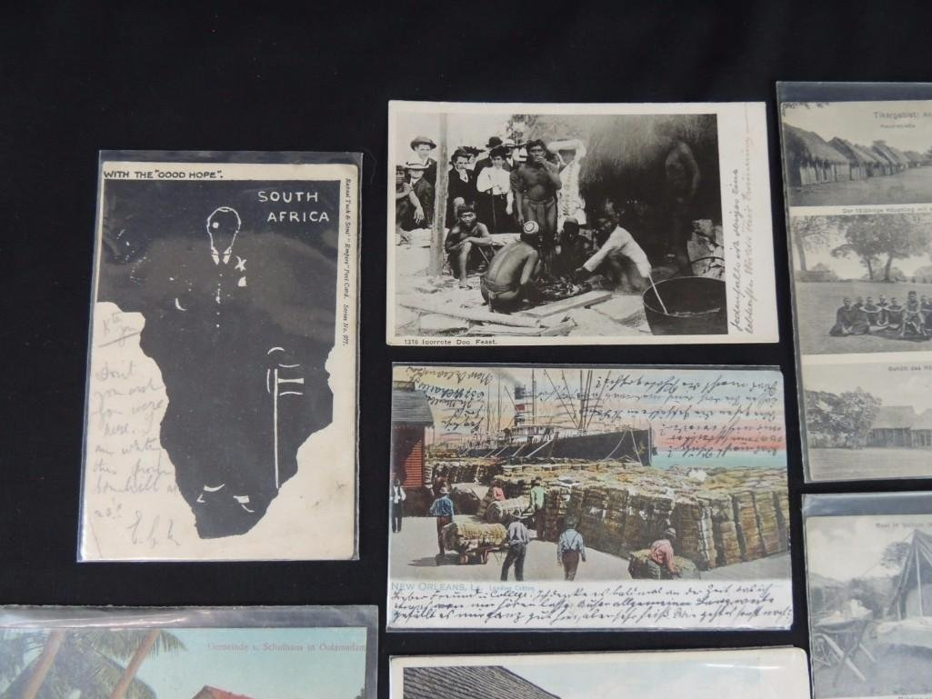 Group of 11 African and Tribal Postcards - 5