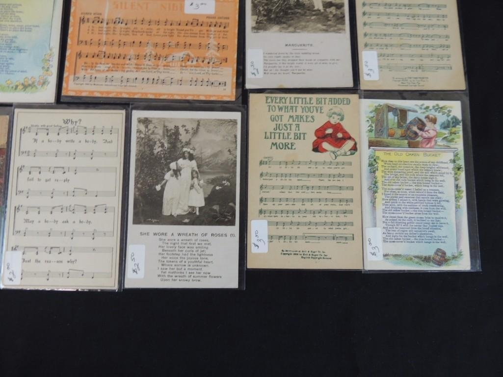 Group of 30 Song Postcards - 4
