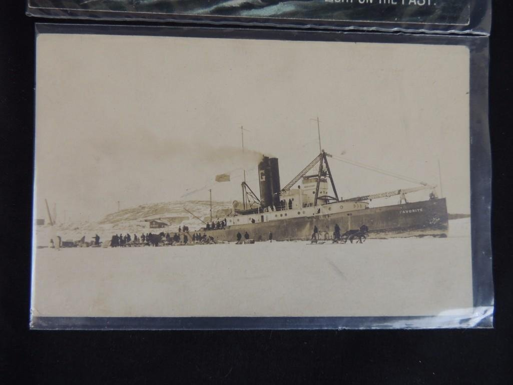 Approximately 50 Plus Boat and Ship Postcards - 2