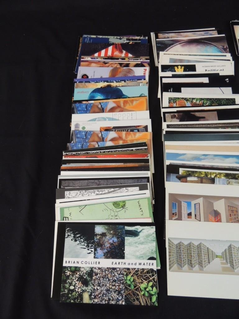 Group of 200 Plus Contemporary Art Postcards - 4