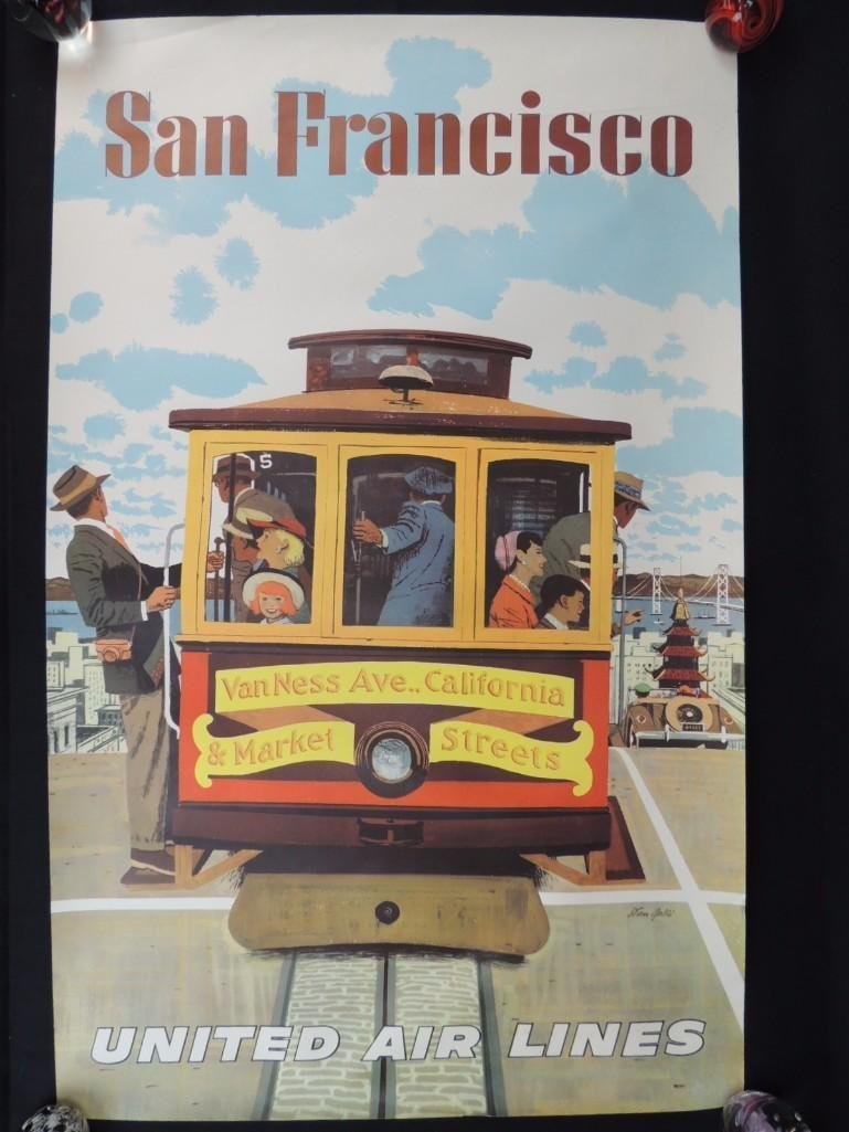 Vintage Stan Galli United Air Lines San Francisco