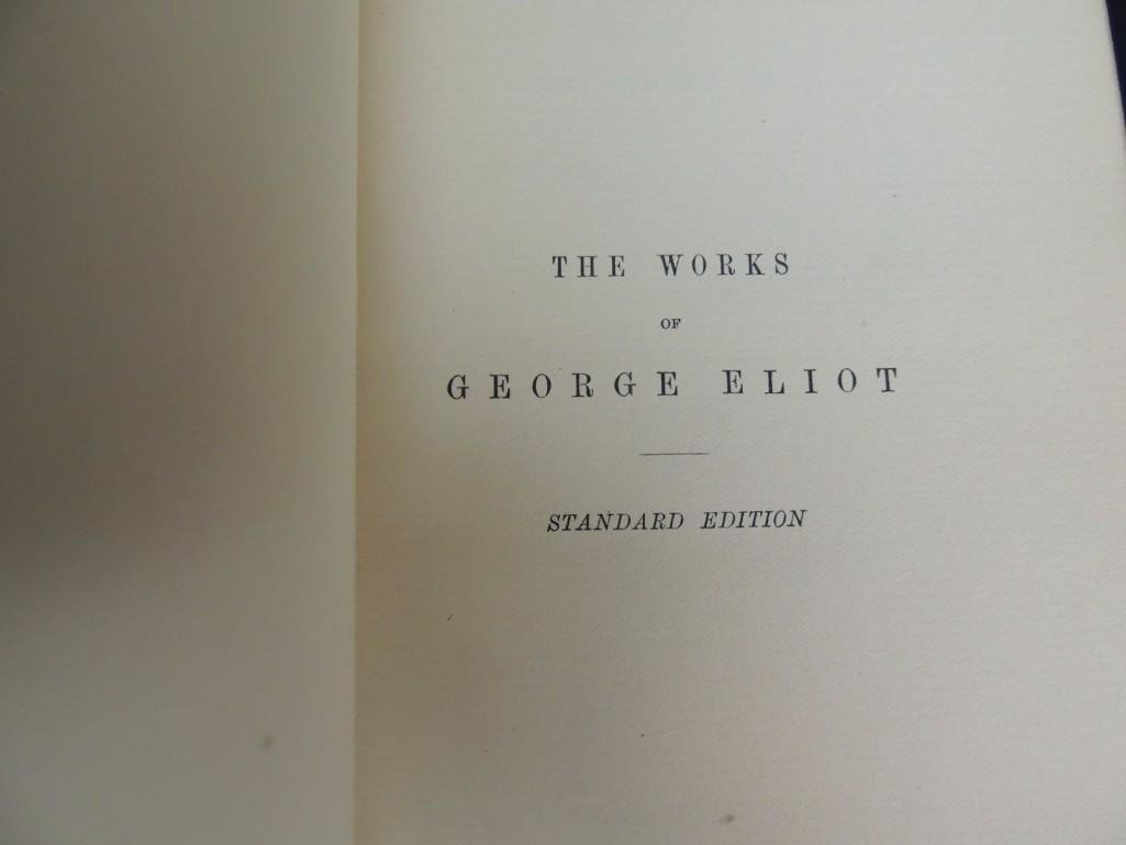 The Works of George Eliot and Poems by Ralph Waldo - 4
