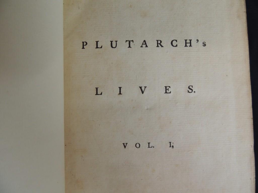 1770 Plutarch's Lives Translated From Original Greek 6 - 3