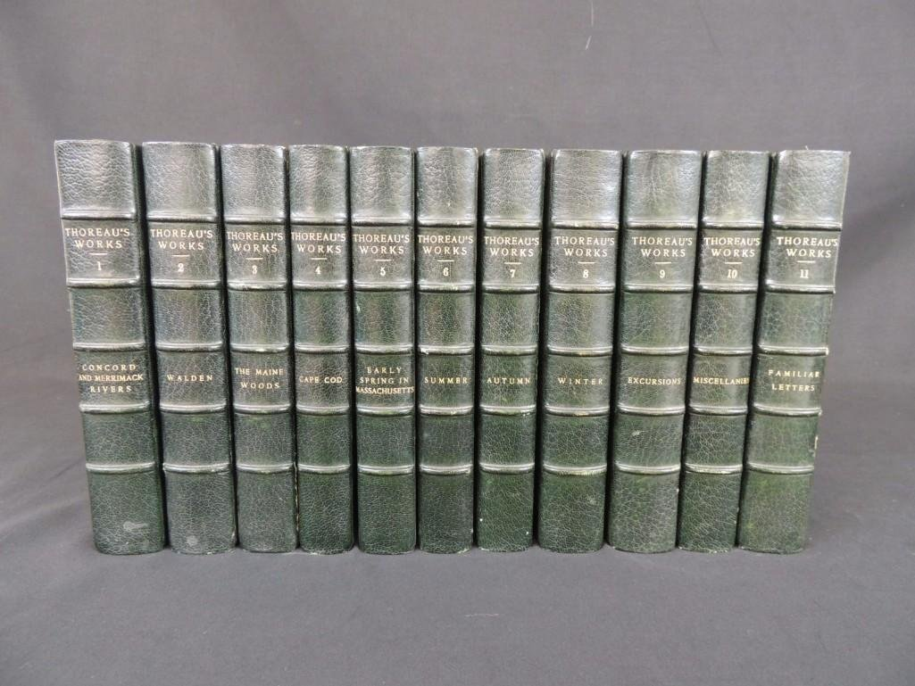 The Writings of Henry David Thoreau 11 Volume Set Book