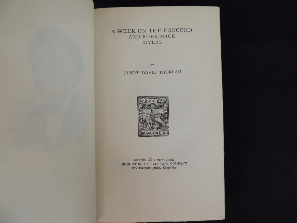 The Writings of Henry David Thoreau 11 Volume Set Book - 6