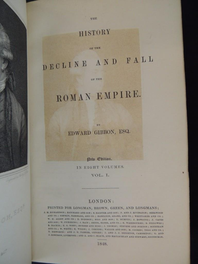 1848 The History of the Decline and Fall of the Roman - 5