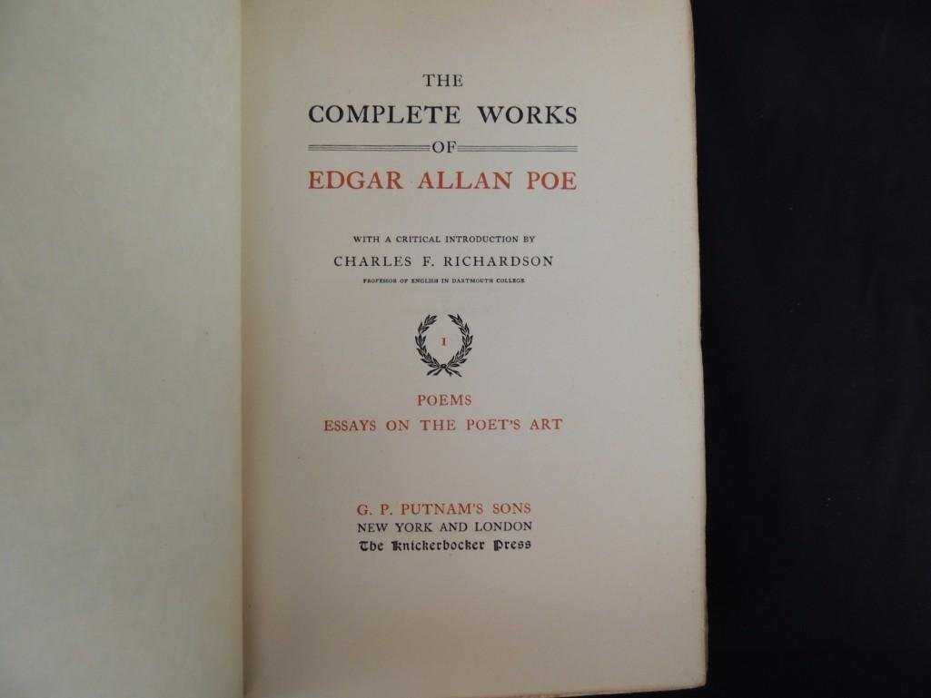 The Complete Works of Edgar Allan Poe Arnheim Edition - 9