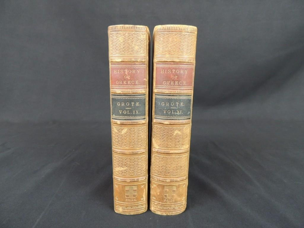 A History of Greece by George Grote 1869 Volumes IX and