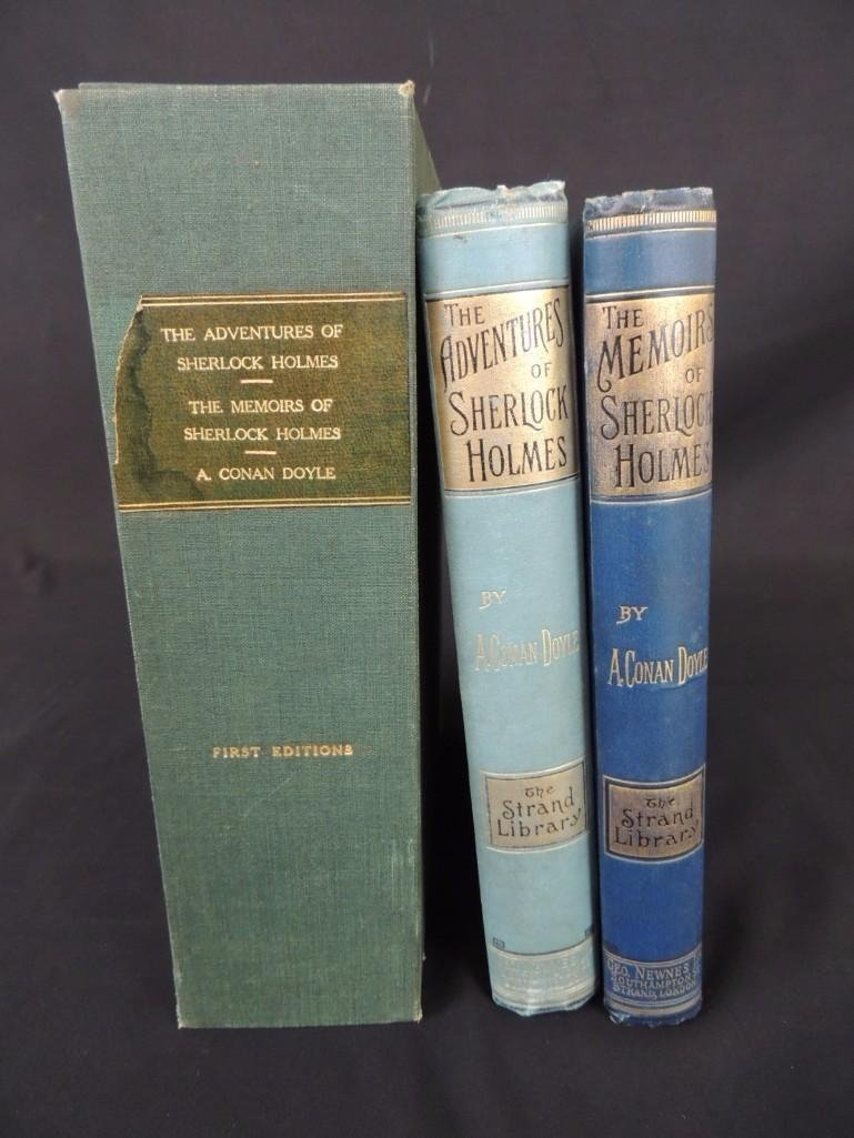 First Editions-1892 The Adventures of Sherlock Holmes