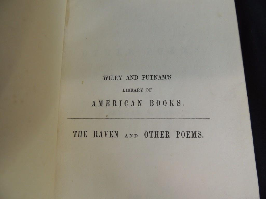 1845 First Edition of The Raven and Other Stories by - 3