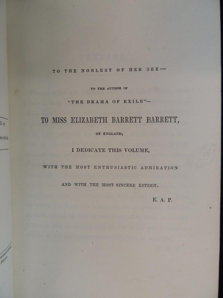 1845 First Edition of The Raven and Other Stories by - 6