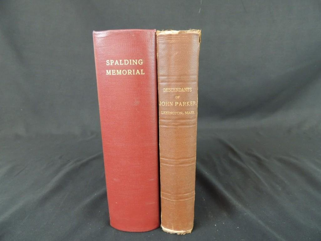 The Spalding Memorial: A Genealogical History of Edward