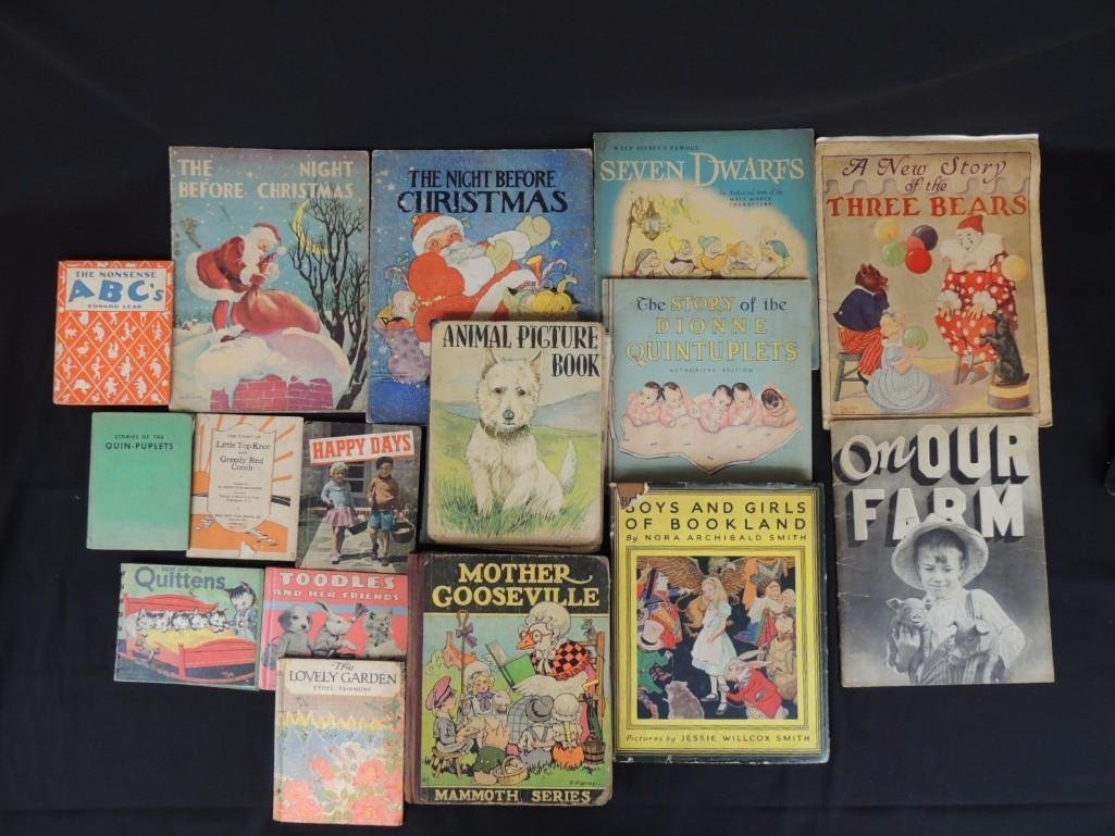 Group of 16 Vintage Children's Books Featuring On Our