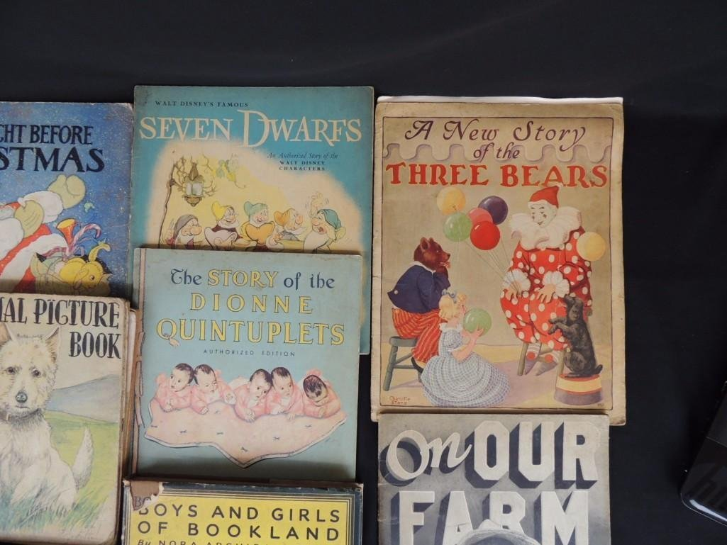 Group of 16 Vintage Children's Books Featuring On Our - 2