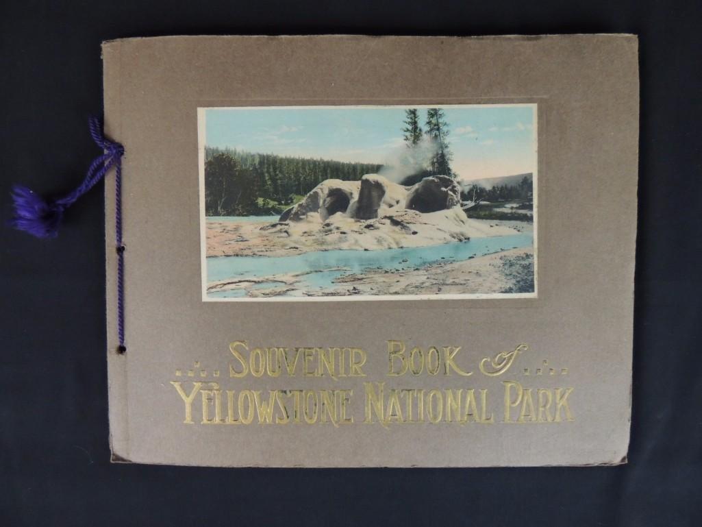 Souvenir Book of Yellowstone National Park