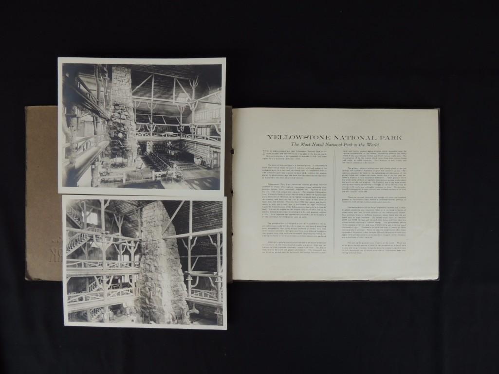 Souvenir Book of Yellowstone National Park - 2