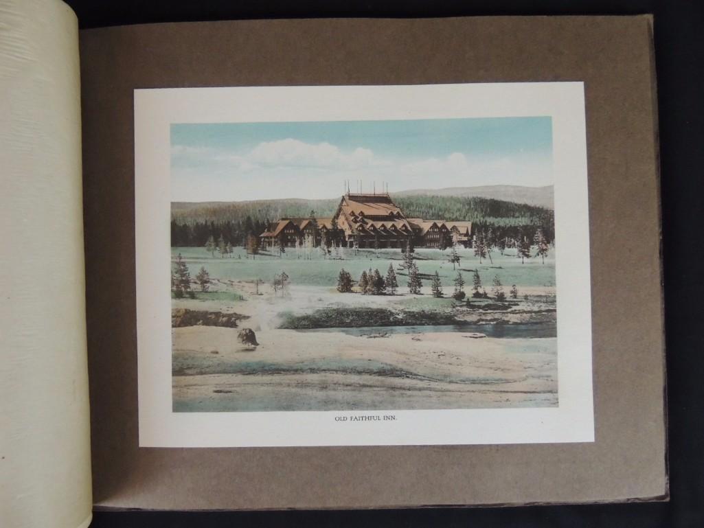 Souvenir Book of Yellowstone National Park - 3