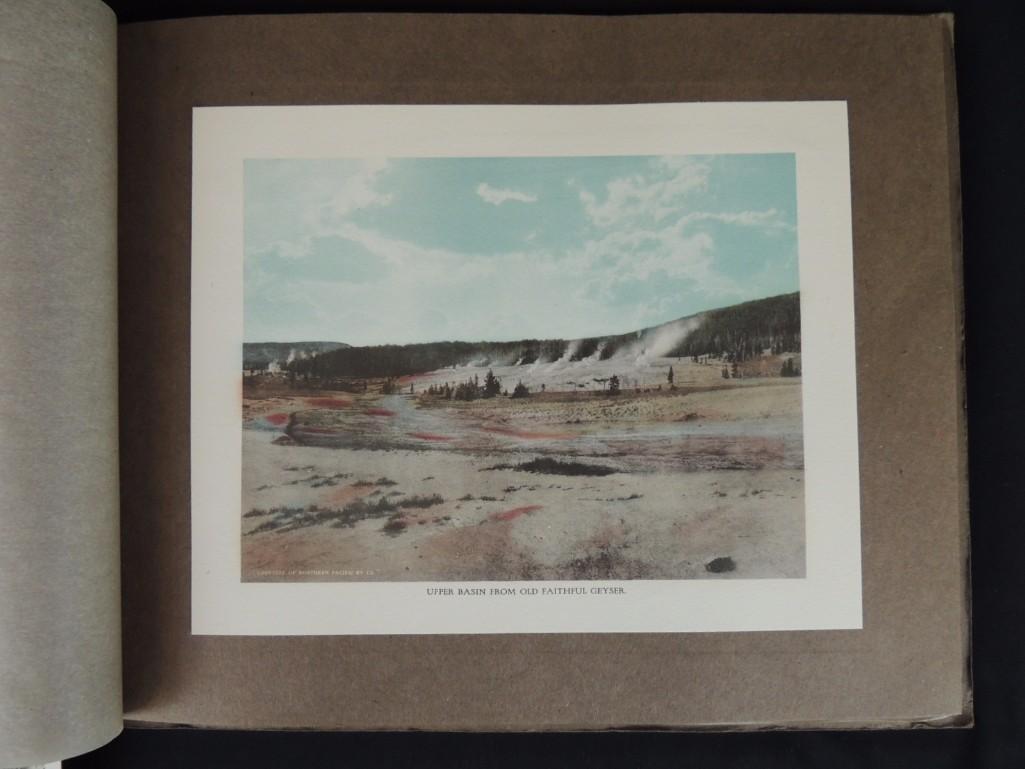 Souvenir Book of Yellowstone National Park - 4