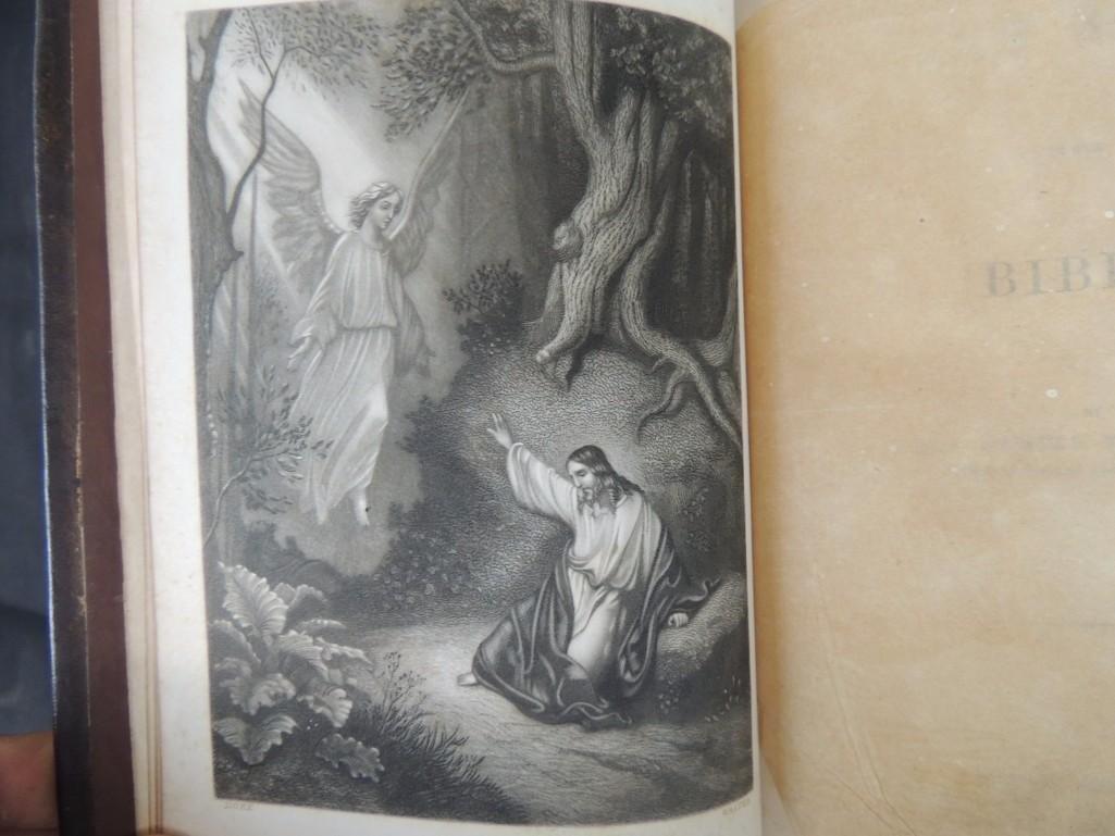 Group of 3 Religious Books Circa 1860's - 4