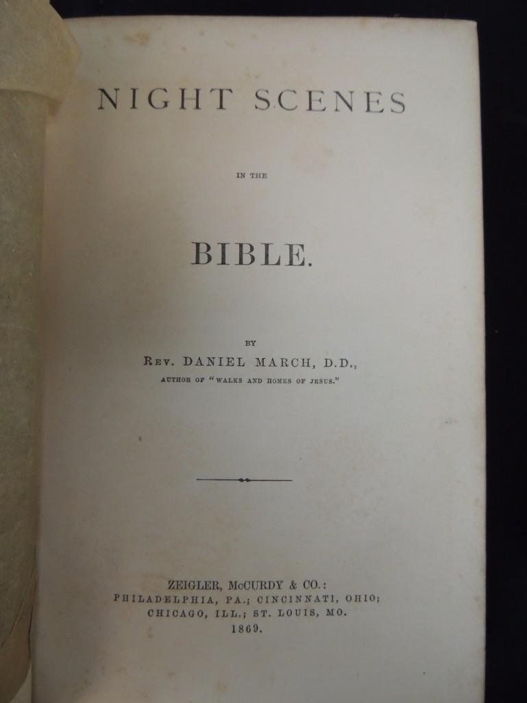 Group of 3 Religious Books Circa 1860's - 5