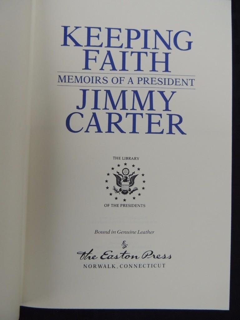 Keeping Faith Memoirs of a President Signed by Jimmy - 6