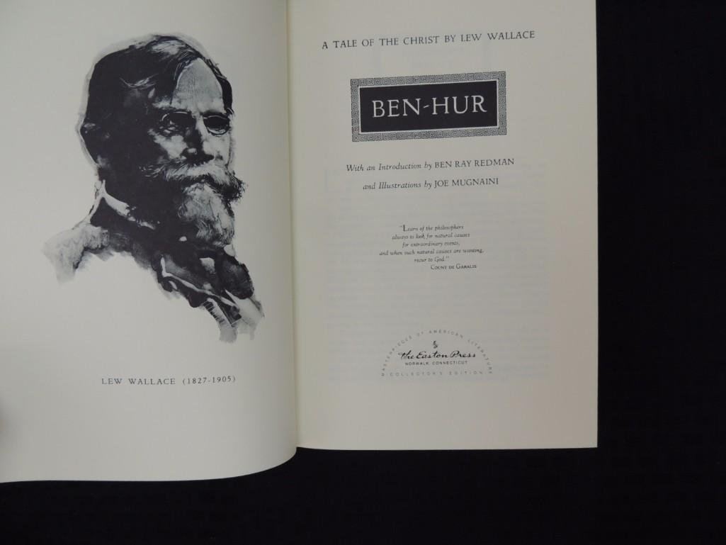 Ben-Hur by Lew Wallace Easton Press Masterpieces of - 3