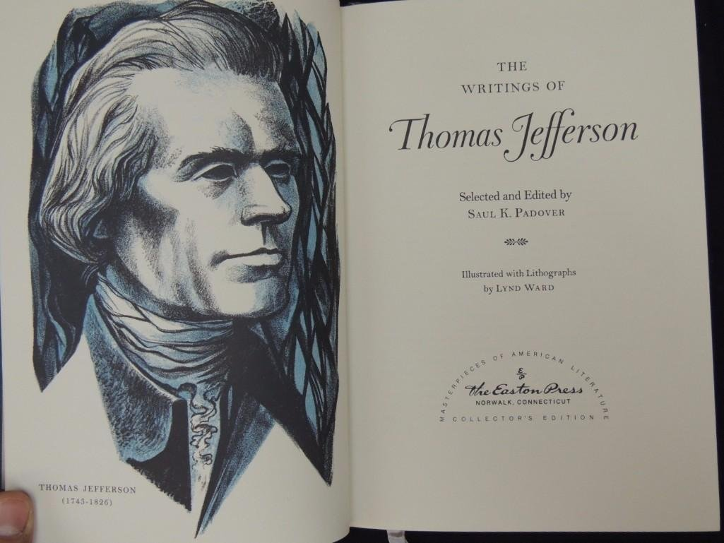 The Writings of Thomas Jefferson and Literary Works of - 3