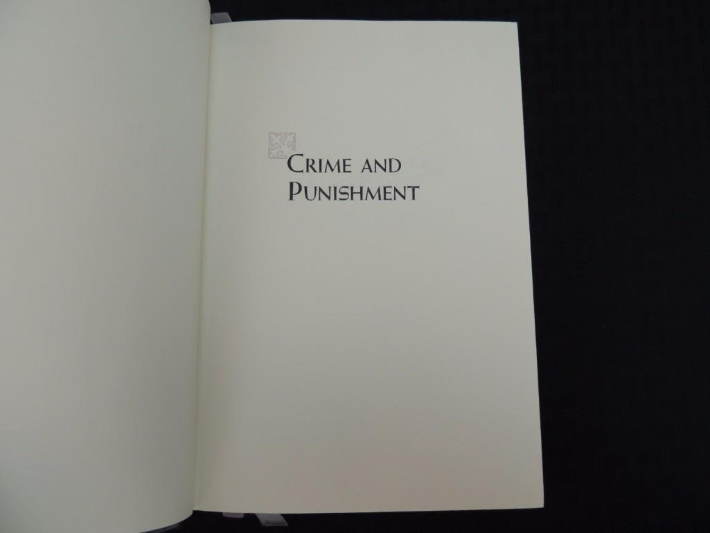 Crime and Punishment Signed by Author Feodor Dostoevsky - 3