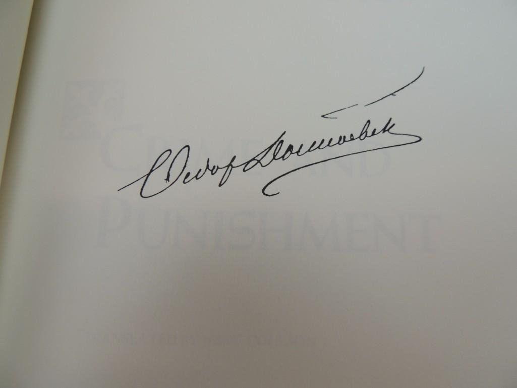 Crime and Punishment Signed by Author Feodor Dostoevsky - 4