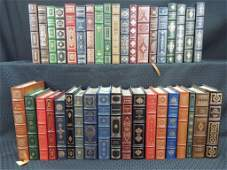 Group of 38 Franklin Library Leather Bound Books