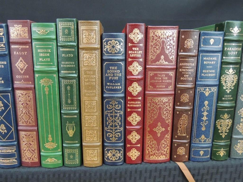 Group of 38 Franklin Library Leather Bound Books - 3