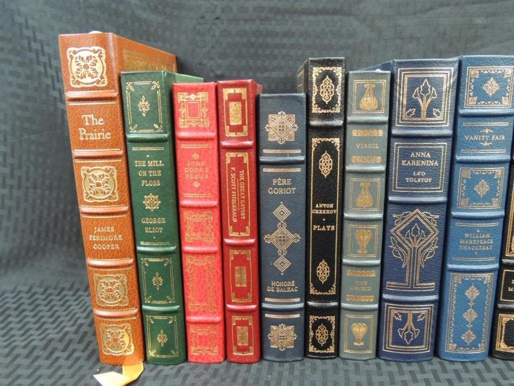 Group of 38 Franklin Library Leather Bound Books - 5