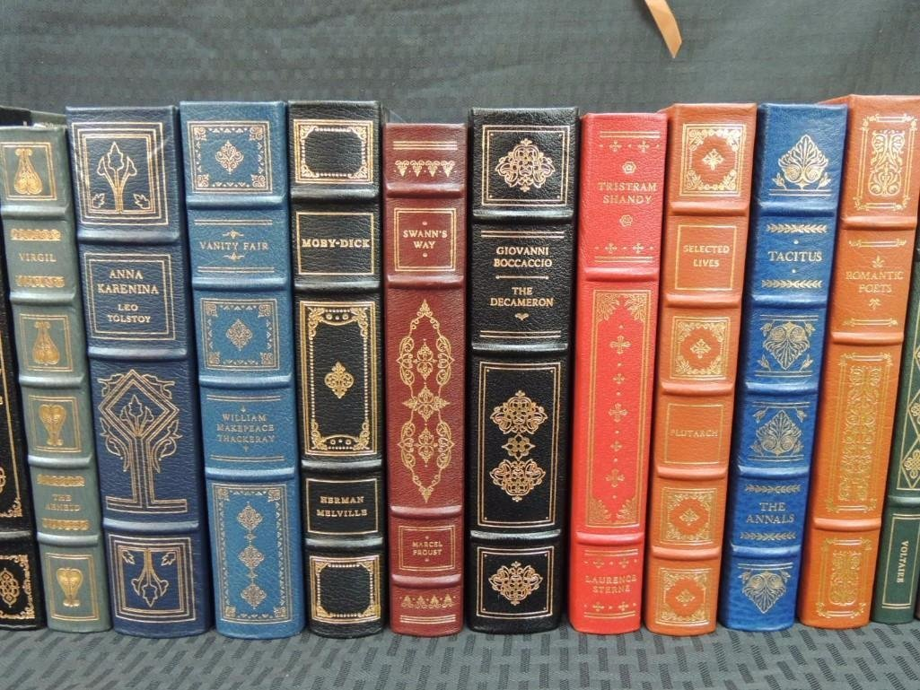 Group of 38 Franklin Library Leather Bound Books - 6