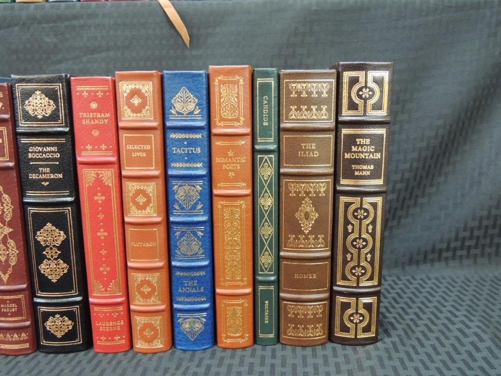 Group of 38 Franklin Library Leather Bound Books - 7