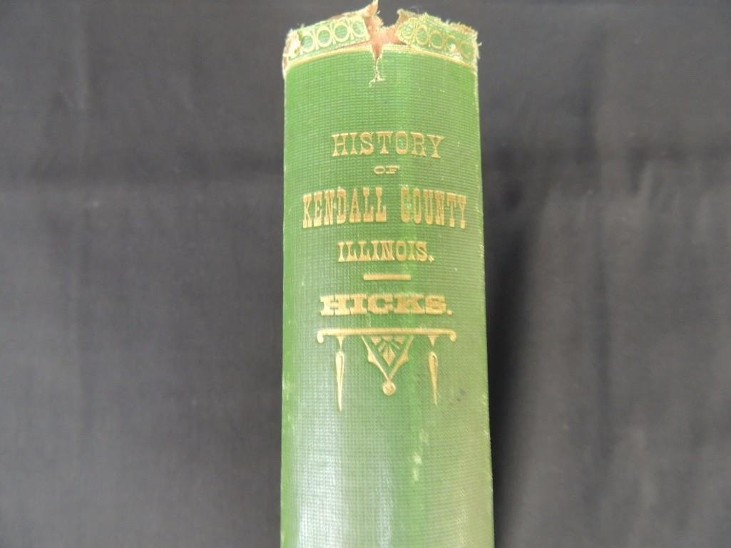 1877 History of Kendall County Illinois by Rev. E. W. - 2